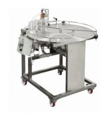Пневматический наполнитель мёда с ротационным столом