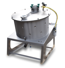 High capacity efficient honey creaming machine