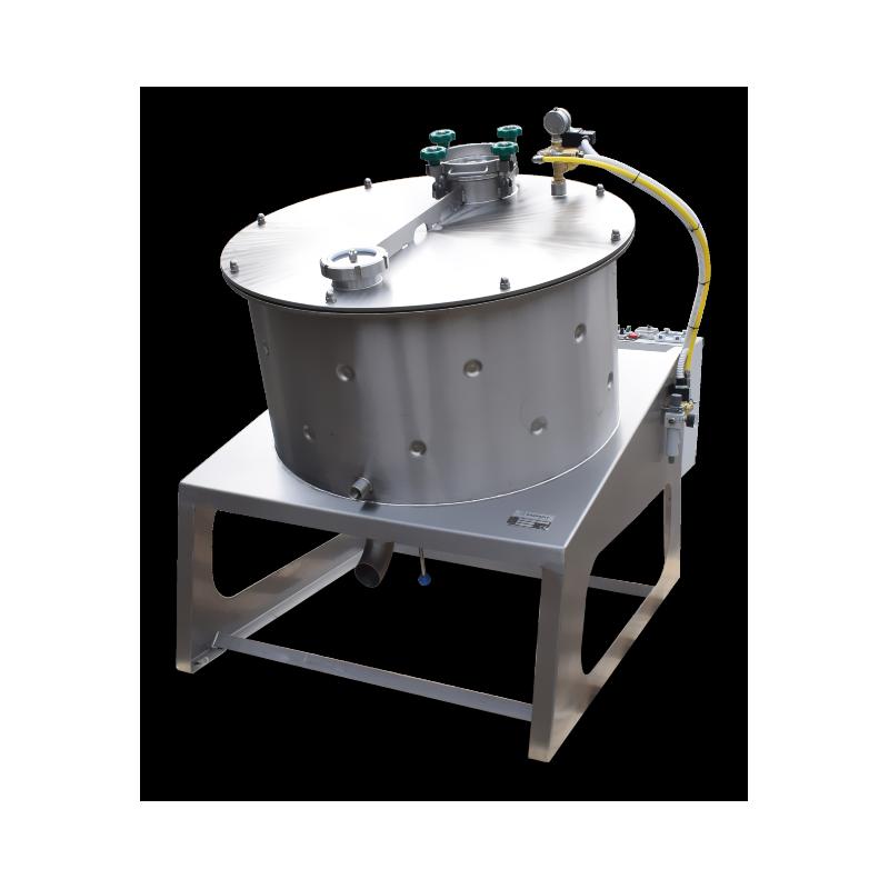 High capacity efficient honey creaming machine
