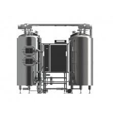 Brewery cooking vessel