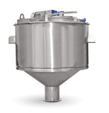 Mixer with conical bottom VCM