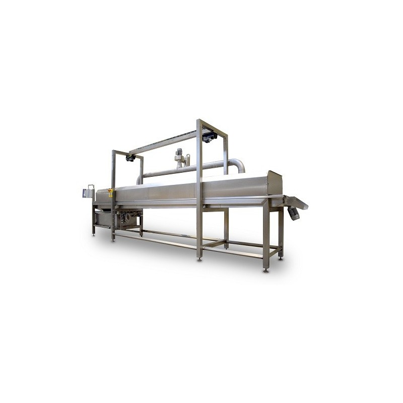 Fryer continuous pouring oil ShowerFry