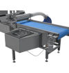 cooling conveyor with air
