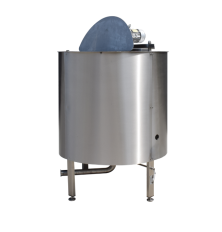 Kettle with duplicator  for heating/cooling VK 1000