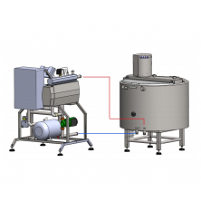 Electrical flow heater MIP