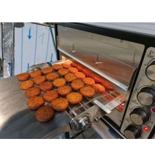 Compact Continuous Baking Conveyor Oven
