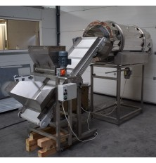 Salting machine (equipment for dispensing dry ingredients)