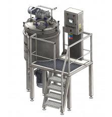 Vacuum Homogenizing mixer VMU