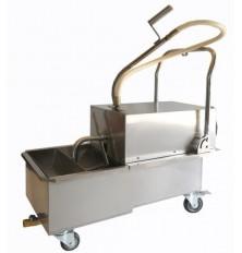 Filtration system for fryer