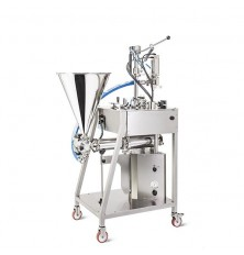 Filling and capping machine for jars