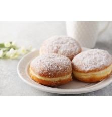 Poloautomatic doughnut fryer