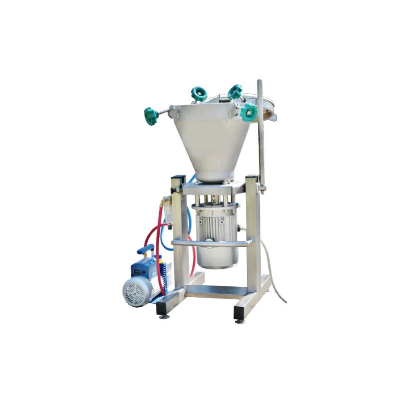 laboratory vacuum cutter mixer