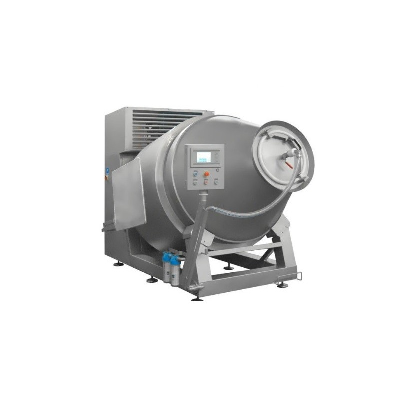 vacuum tumbler with cooling