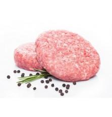 Meat burger patty
