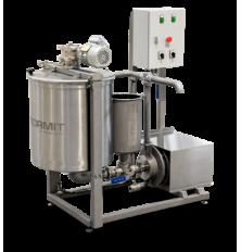 Procesný mixér s inline homogenizátorom PM100 HIL