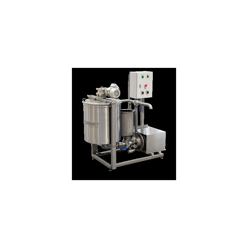 Procesný mixér s inline homogenizátorom
