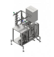 manual keg washer and filler