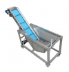 washing tank with conveyor