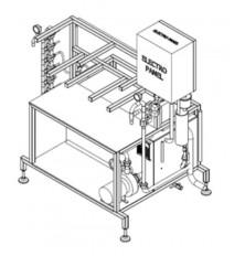 Manual Keg washer and filler