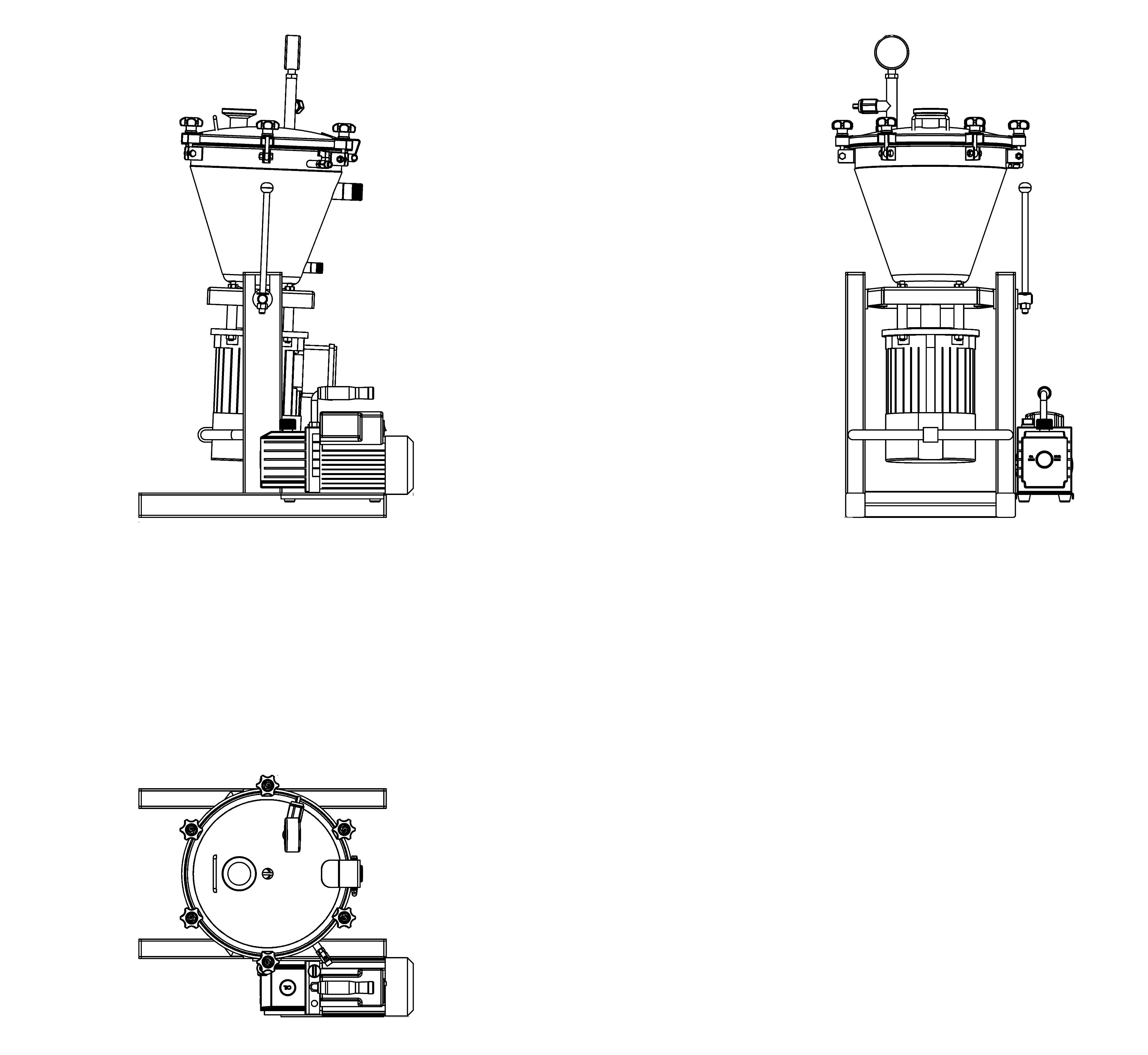 small  vacuum cutter