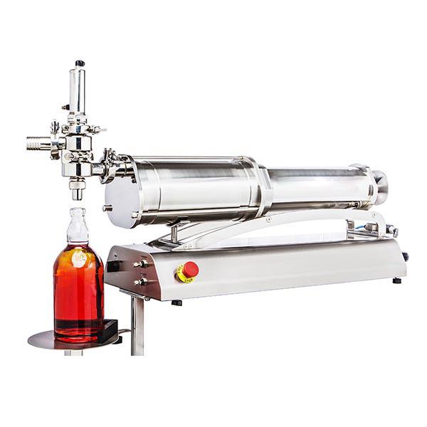 volumetric filler for jars and bottles