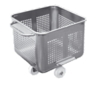 perforated tub trolley